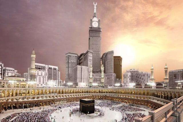 ما هو التعبيرالذي يطلق على مكة المكرمة