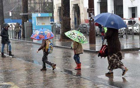 نشرة خاصة .. أمطار رعدية قوية يومي الخميس والجمعة بعدد من أقاليم المملكة
