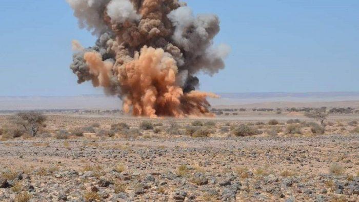 الجيش المغربي يدمر سيارات رباعية الدفع تابعة للبوليساريو