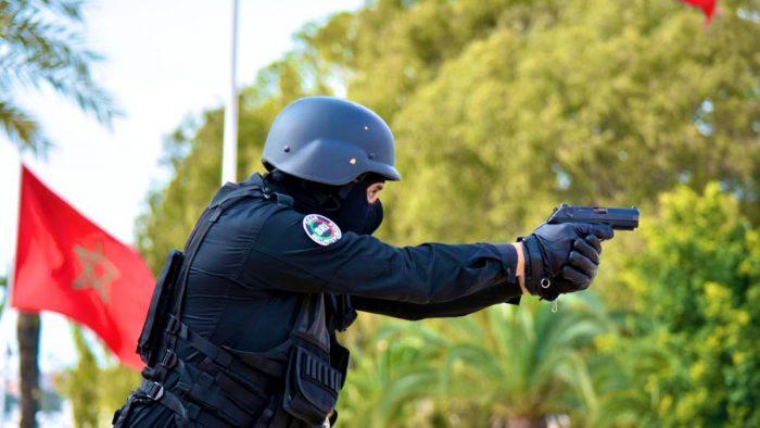 رصاص الشرطة ينهي فوضى مجرم خطير بسلا