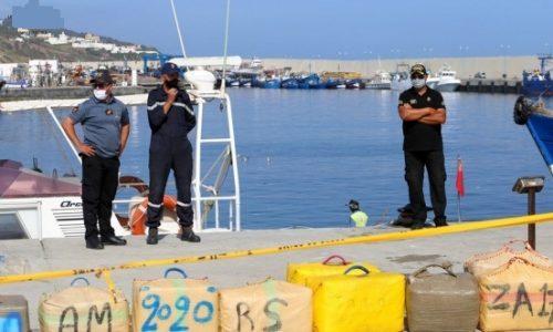 البحرية الملكية تحبط عملية تهريب كمية مهمة من المخدرات