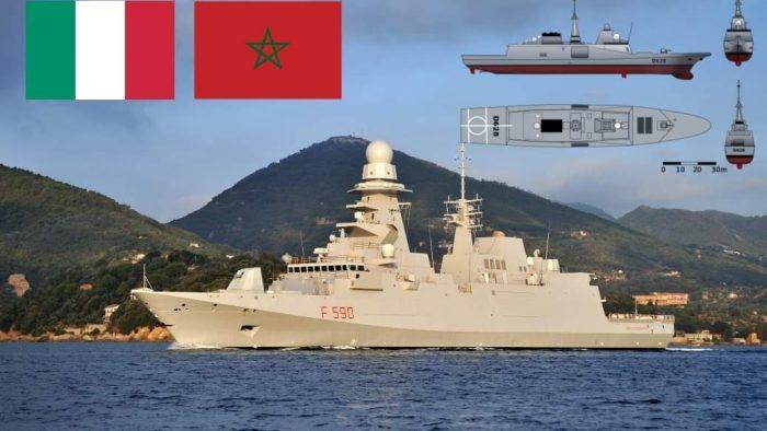 المغرب يجري مفاوضات مع إيطاليا لاقتناء فرقاطتين للدفاع الجوي